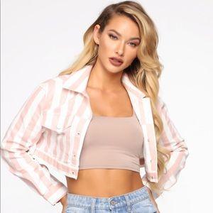 Fashion nova jacket NWT